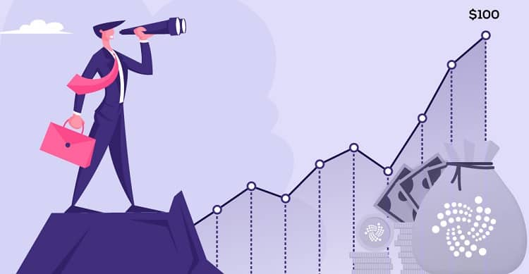 Can IOTA Reach 100 Dollars? See What Experts Say!